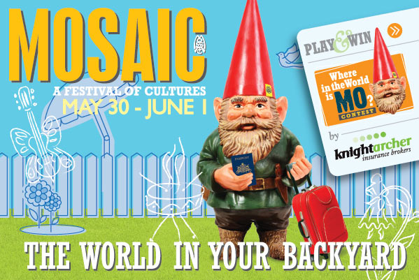 Mosaic: A Festival of Cultures – May 30 - June 1 – The World in Your Backyard